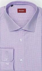 Сиреневая рубашка на высоких