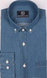 Джинсовая мужская рубашка за 1280 р