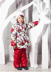 """Зимний костюм для девочки Oldos """"Роза"""""""