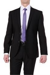Черный мужской костюм 7717