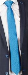Галстук FORMAX 6 ярко-голубой